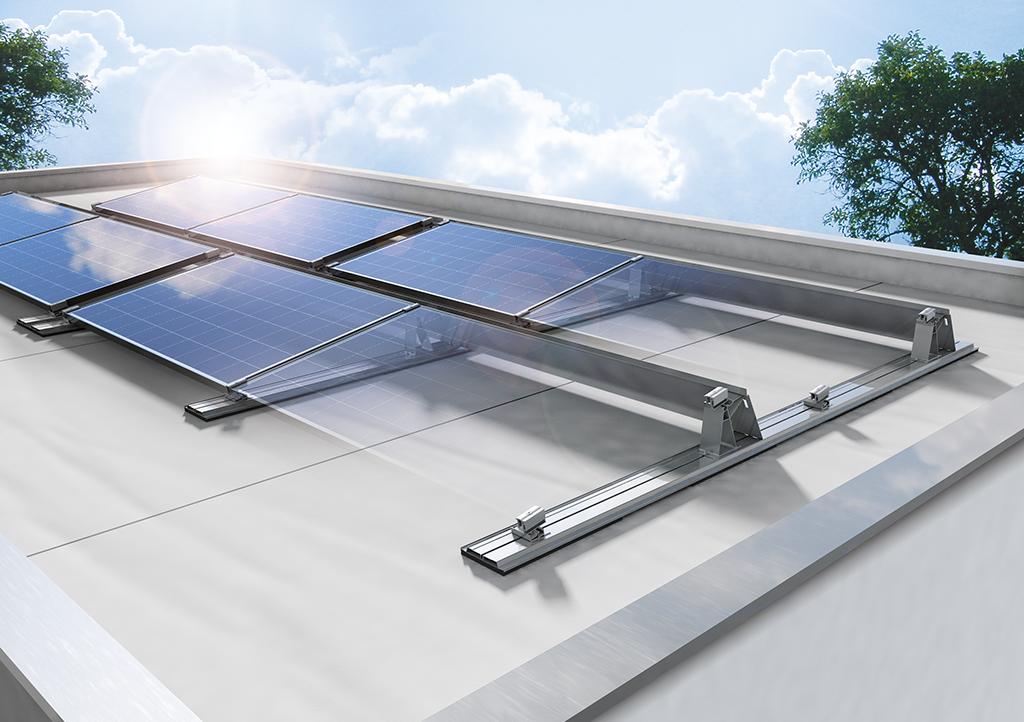 photovoltaik auf dem flachdach beratung festpreisangebot. Black Bedroom Furniture Sets. Home Design Ideas
