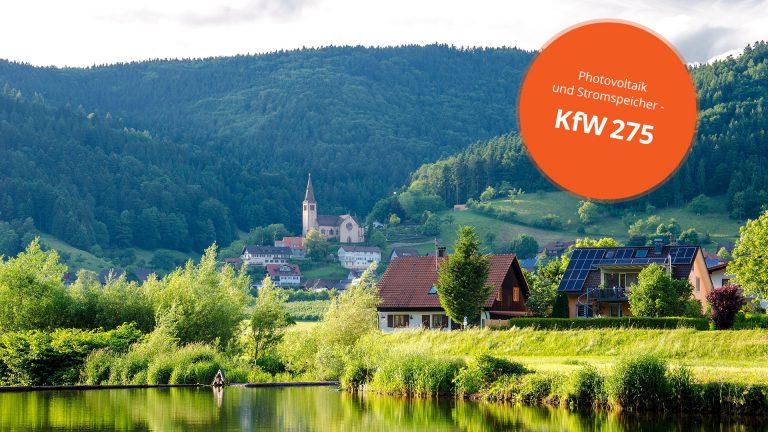 Speicherförderung –  KFW 275 immer seltener genutzt