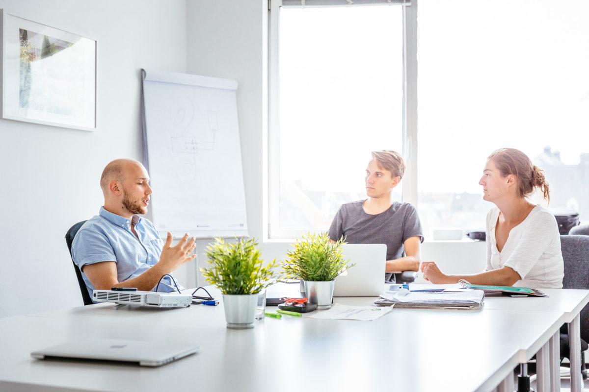 Wegatech Mitarbeiter Meeting