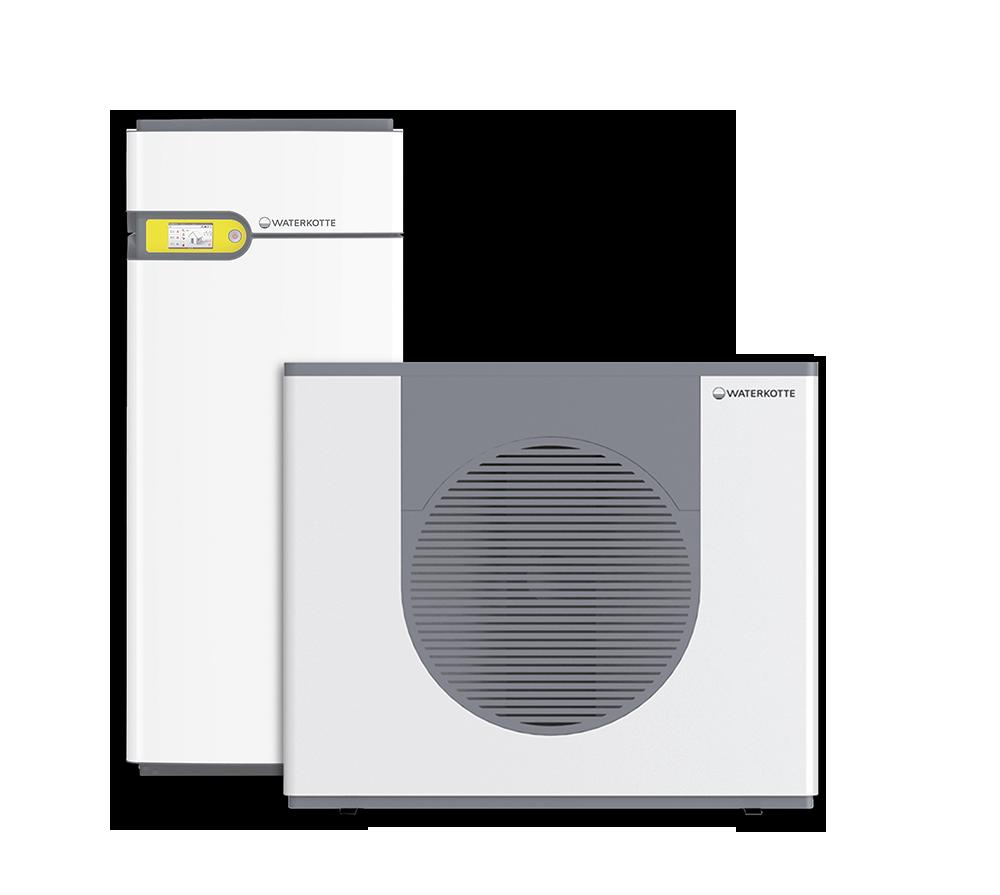 Waterkotte EcoTouch Luft-Wasser-Wärmepumpe