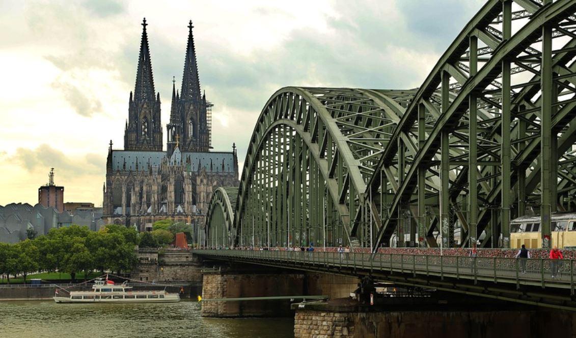 Köln Dom Brücke