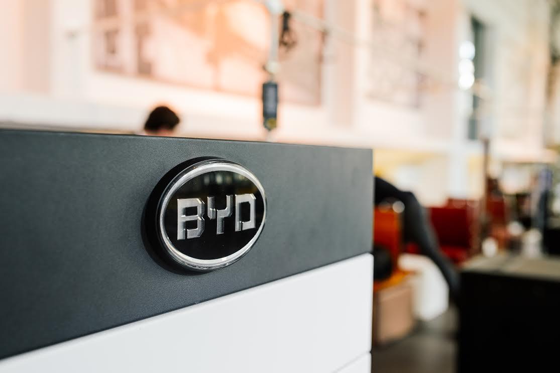 BYD B Box in Cafe