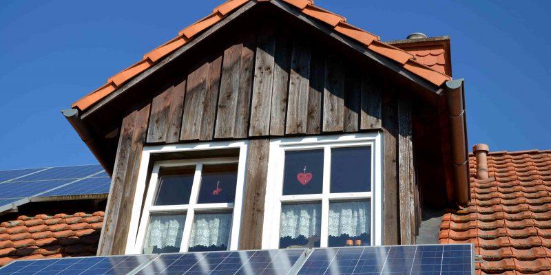 Photovoltaikmodule auf Dach Eigenverbrauch