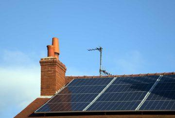 Verschattung auf Photovoltaikmodulen