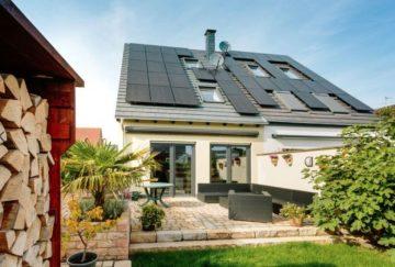 Familienhaus mit Garten und Solar