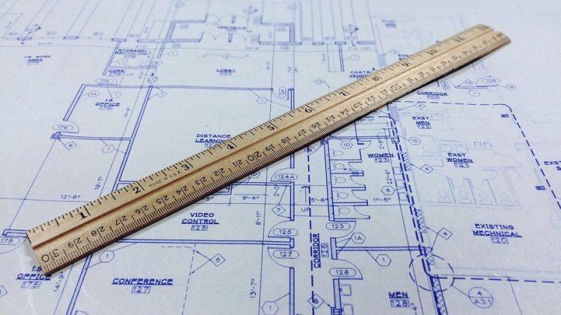 Dimensionierung mit Hilfe eines Grundrisses