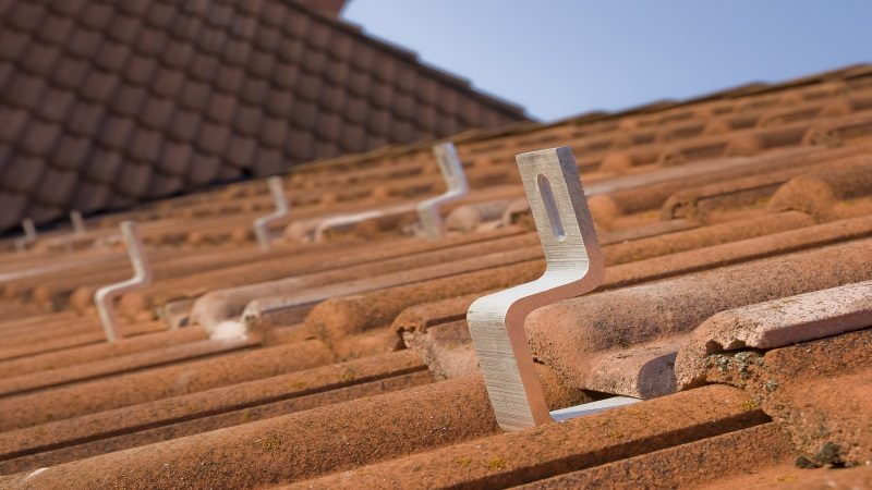 Photovoltaik Dachhaken