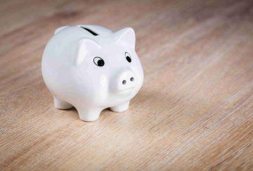 Sparschwein - Geld sparen durch Solarstrom