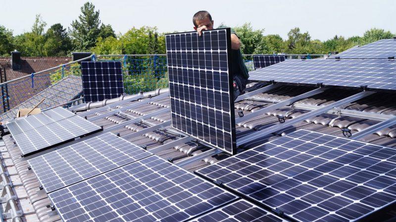 Photovoltaikanlage Installation