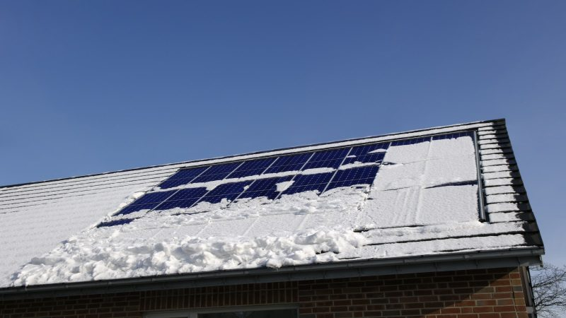 Photovoltaik im Winter