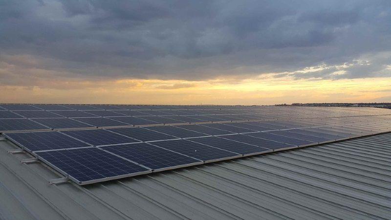 Photovoltaik Blechdach