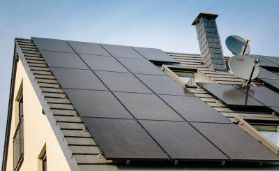 Dachansicht Photovoltaikmodule